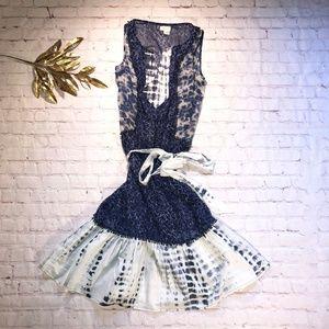 Meadow Rue Shibori Dress for Anthropologie